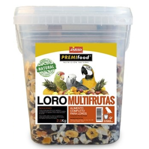 Cocktail Multifrutas para Loros 700g